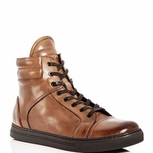 NEW Kenneth Cole | Brown Leather Sneaker Boot